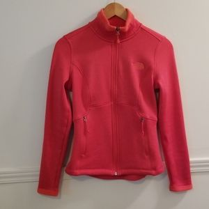 NORTH FACE zip-up sweatshirt jacket XS